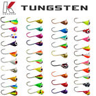 Tungsten Jigs - 3mm, 4mm, 5mm, 6mm - Kenders Outdoors Ice Fishing/Summer Fishing