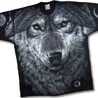ARCTIC WOLF- OVERALL LARGE PRINT 2 SIDED T-SHIRT-L-XL-XXL-wolves-AMAZING PRINT