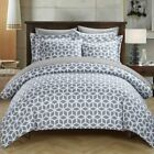 Lovey Reversible Duvet Cover Set by Chic Home