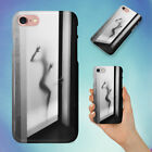 FROSTED GLASS BATHROOM DOOR HARD BACK CASE FOR APPLE IPHONE PHONE