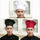 Fashion Hot Kitchen Elastic Cook Baker Chef Hat Cap Catering Adjustable Men