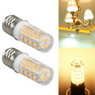 Pair Microwave LED Replacement Light Bulb for Appliance E17 Socket 4W Oven Bulbs photo