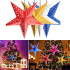 1Pcs 3D Star Paper Lampshade Light Star Lantern Home Hanging Decor Christmas New