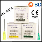 NEEDLES | STERILE & GENUINE | AUTHENTIC BD MICROLANCE 3 | VALUE PACKS | IE FAST