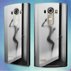 FROSTED GLASS BATHROOM DOOR HARD BACK CASE COVER FOR LG PHONES