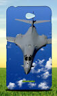 BLACK FIGHTER JET NEAR WHITE CLOUDS HARD BACK CASE FOR SONY XPERIA PHONES
