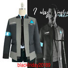 Внешний вид - Detroit Become Human RK800 Connor Cosplay Costume Complete Outfit Jacket Coat