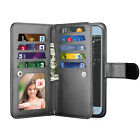 For Samsung Galaxy J7 Star/Crown/J7 V Flip Leather Card Wallet Phone Case Cover