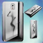 FROSTED GLASS BATHROOM DOOR HARD CASE FOR SAMSUNG GALAXY PHONES