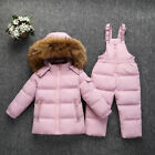 2018 Baby Rompers Winter Thick Climbing Newborn Boys Girls Warm Coat Pants 2 Pcs