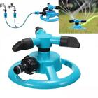Garden Durable Three Arm Water Sprinkler 360 Degree Automatic Rotating System