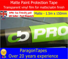 CLEAR MATTE Bike Frame Car Paint Protection Film Helicopter Tape Heli Vinyl Wrap