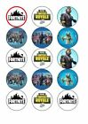 Fortnite Novelty Birthday Party Cupcake Toppers 15 x 5cm