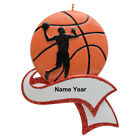 Personalized Basketball Sports Christmas Ornament Basketball Player/Boy Gifts