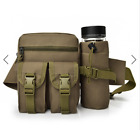 Backpack Riding Water Bottle Pockets Outdoor Tactical Bag Multifunction Large Ca