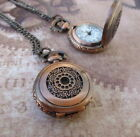 Quartz Watch Necklace Bicycle, Butterfly, Sphere, Heart, Rose, Owl, Angel