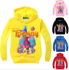 Kids Boys Girls Trolls Hoodies SweatShirt Cartoon Tops Children Cartoon Clothes  image