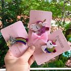 Glitter Unicorn Star Baby Kids Hair Clips Girls Hairpin Cart