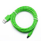 Nylon Braided Type C Cable USB-C Fast Charging Cord For Samsung S8 S9 Note 9 lot