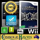 (Wii Game) Star Trek: Conquest (Bethesda) (G) (Strategy) PAL, Guaranteed,Cleaned on eBay