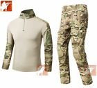 Tactical Clothing BDU Airsoft Combat Hunting Uniform MultiCa