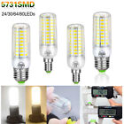 E27 E14 Led Bulb Lights 5731 Light Corn Bulbs Candle Lamp 7/12/20/25W 220V 110V