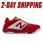 New Balance Baseball Low-Cut T3000v4 Turf Shoes Red/White -T3000TR4 *2DAY SHIP*