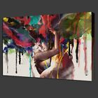 90x60cm Abstract Couple Canvas Painting Print Art Picture Home Wall Decor Framed