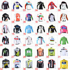 2018 Quick Dry Cycling Jersey Long Sleeve Sports Bike Clothing Bicycle Jerseys