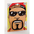 Fancy Dress Rap Star Beard Goatee Moustache Ali G Look Gangster Outline