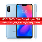 Xiaomi Mi A2 Lite Factory Unlocked SmartPhone Android 4GB 64GB Snapdragon 625