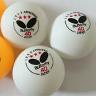 40mm Butterfly 3 Sars Ping Pong Balls Table Tennis Balls Official Balls 18 Pcs