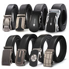 Mens Designer Genuine Leather Belts Quality Cow Skin Automatic Buckles For Men