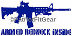 Armed Redneck,Second Amendment,2A,Country Life,Molon Labe,Sticker,Vinyl Decal