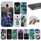 For Samsung J3 J5 J7 Pro 2017 Pattern Rubber Soft TPU Back Case Silicone Cover