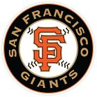 San Francisco Giants Baseball Sticker Decal for Cornhole Car  Pick a size
