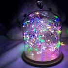 20/30/100 LED Battery Micro Rice Wire Copper Fairy String Lights Party white/rgb <br/> NEW Button Battery Powered! For Christmas/Party/Wedding