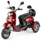Stylish Electric Mobility Travel Scooter 3 Wheel Vespa 16 mph NEW Italian Style