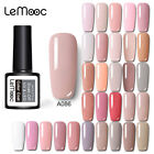186 Classic Gel Nail Polish Soak off UV Gel Salon Party Show Nude Pink