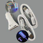 Original LED USB Cable Fast Car Charger For Samsung Galaxy Note 4/5 S6 S7 S7Edge