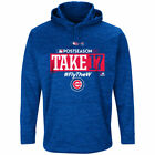 Chicago Cubs 2017 Postseason Authentic Collection Fleece Pullover Hoodie
