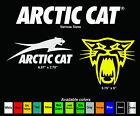 Arctic Cat Window Decal Sticker Artic