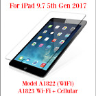 Premium Tempered Glass Screen Protector iPad 6 2018 Model A1893 & Other Models