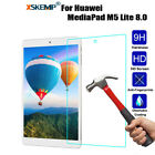 9H Tempered Glass LCD Screen Protector Film For Huawei Mediapad C5 10.0 / 8.0 T5