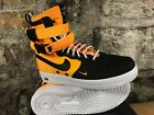 NIKE SF AF1 864024-800 Laser Orange Black Men's Army Boot Military Tennessee