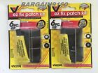 EZ Patch 6pc Kit Rubber Cement ATV Flat TIRE Puncture Repair Bicycle Inner Tube