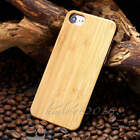 New Wood Grain Pattern Genuine Natural Bamboo Hard Case For iphone 7 7 Plus 6s