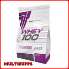 TREC Nutrition  WHEY 100 Pure Protein Muscle Mass Gainer 900g WPC 9 Flavors