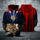 Avengers3: Infinity War Doctor Strange Unisex Hoodie Cosplay Clothes S-3XL Size
