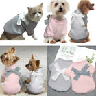 Cute Puppy Small Pet Cat Dog Winter Apparel Clothes Jacket Shirt Hoodie Jumpsuit